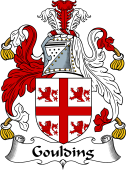 Irish Coat of Arms for Goulding or O'Goilin