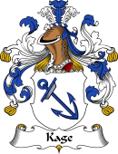 German Wappen Coat of Arms for Kage