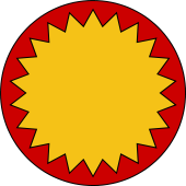 Circular Shield-Bordure Indented