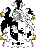 English Coat of Arms for Spiller
