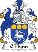 Irish Coat of Arms for O'Flynn