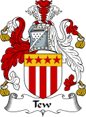 English Coat of Arms for Tew