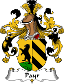German Coat of Arms for Payr