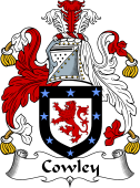 Irish Coat of Arms for Cowley