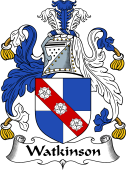 English Coat of Arms for Watkinson