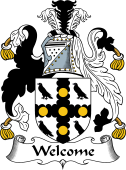 English Coat of Arms for Welcome