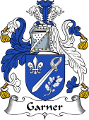 English Coat of Arms for Garnier or Garner
