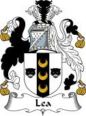 English Coat of Arms for Lea