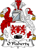 Irish Coat of Arms for O'Flaherty