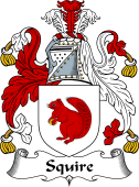 English Coat of Arms for Squire