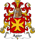 Coat of Arms from France for Agier