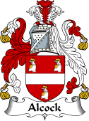 English Coat of Arms for Alcock