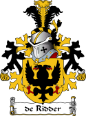 Dutch Coat of Arms for de Ridder
