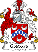 English Coat of Arms for Goddard