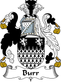 English Coat of Arms for Burr