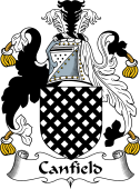 English Coat of Arms for Canfield
