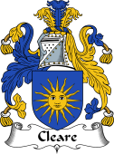 Irish Coat of Arms for Cleare