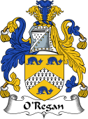 Irish Coat of Arms for O'Regan