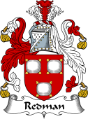Irish Coat of Arms for Redman
