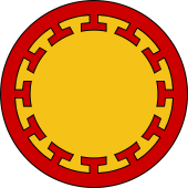 Circular Shield-Bordure Potentee