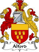 English Coat of Arms for Alford