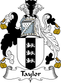 English Coat of Arms for Taylor I