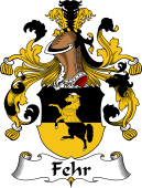 German Coat of Arms for Fehr