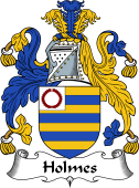 English Coat of Arms for Holme (s) or Hulme