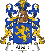 Coat of Arms from France for Albert
