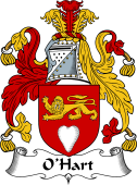 Irish Coat of Arms for O'Hart