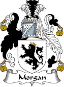 English Coat of Arms for Morgan I (Wales)