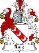 English Coat of Arms for Ring
