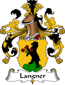 German Wappen Coat of Arms for Langner