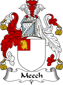 English Coat of Arms for Meech