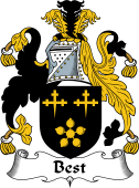 English Coat of Arms for Best