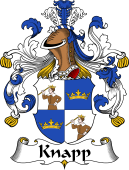 German Wappen Coat of Arms for Knapp