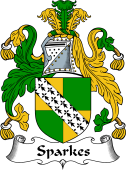 English Coat of Arms for Sparke (s)
