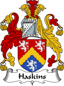 English Coat of Arms for Haskins