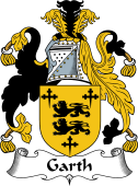 English Coat of Arms for Garth