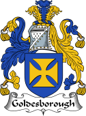 English Coat of Arms for Goldesborough