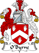 Irish Coat of Arms for O'Byrne