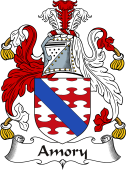 Irish Coat of Arms for Amory