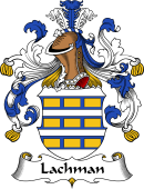 German Wappen Coat of Arms for Lachman