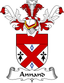 Coat of Arms from Scotland for Annand