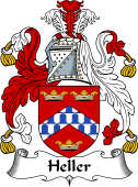 English Coat of Arms for Heller