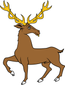 Stag Trippant Reguardant