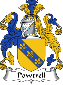 English Coat of Arms for Powtrell