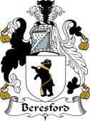 English Coat of Arms for Beresford