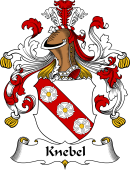 German Wappen Coat of Arms for Knebel