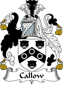 English Coat of Arms for Callow